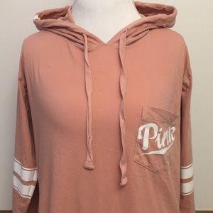 PINK hoodie T-shirt